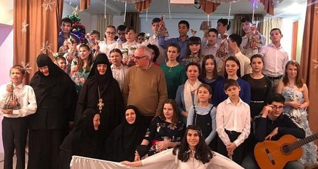 Рождественская сказка воскресной школы Знаменского женского монастыря