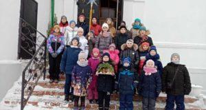 """Рождество в воскресной школе """"Преображение"""" Никольского храма г. Чаплыгина"""