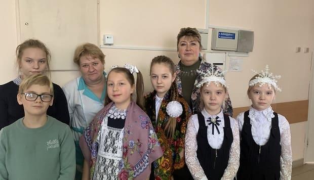 Рождественские песнопения прозвучали в Измалковской районной больнице