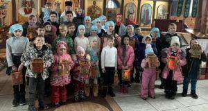 Рождественский утренник в измалковском храме
