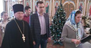 В Троицком храме п. Лев Толстой состоялся Рождественский утренник