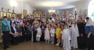 Светлый праздник Рождества Христова в Свято–Никольском храме села Лавы