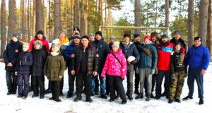 Традиционный выезд в лес молодежного клуба «Александр Пересвет»
