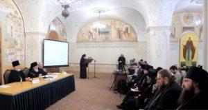 Представители комиссии по канонизации святых Липецкой митрополии участвовали в работе Международных образовательных чтений в Москве