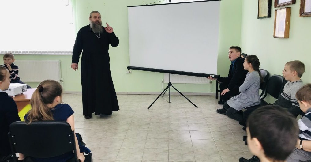 «Навеки в памяти людской» - выставка-экспозиция в воскресной школе Знаменского монастыря