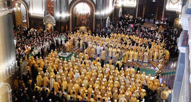 В Москве состоялись торжества по случаю годовщины Патриаршей интронизации