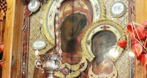 Священнослужители Чаплыгинского благочиния совершили объезд города с Тихвинской иконой Божией Матери