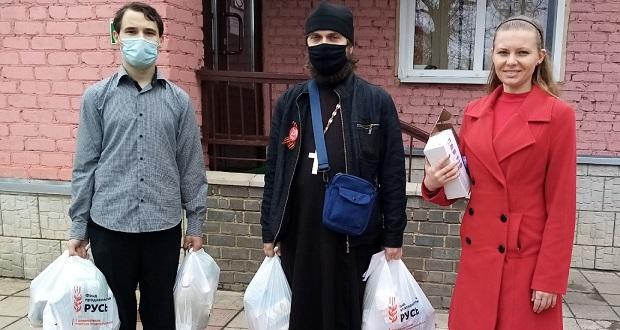 """Активисты миссионерского клуба """"Благовест"""" доставили продуктовые наборы труженикам тыла"""