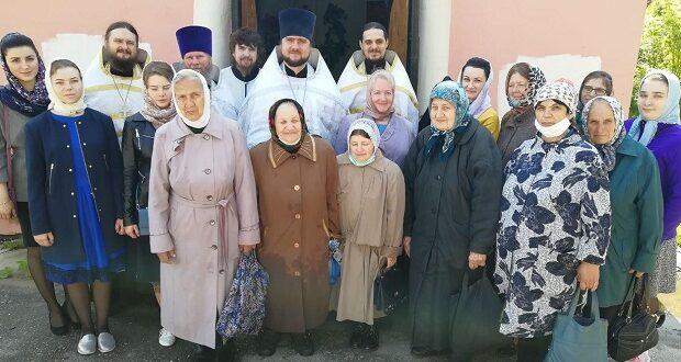 В день памяти святителя Алексия Московского в часовне его имени отслужили молебен