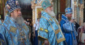 Престольный праздник Задонского мужского монастыря