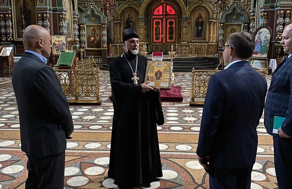 Делегация высокопоставленных чиновников посетила Елец