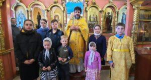 Начало учебного года в воскресных школах Лебедянского благочиния