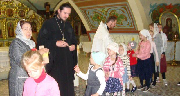Для воскресной школы Вознесенского собора состоялся молебен на начало нового учебного года