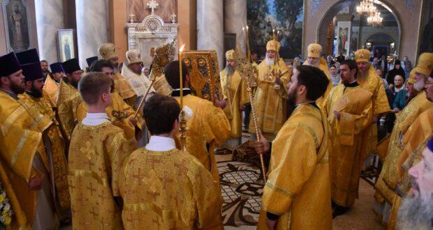 В Липецкой митрополии почтили память Собора Липецких святых