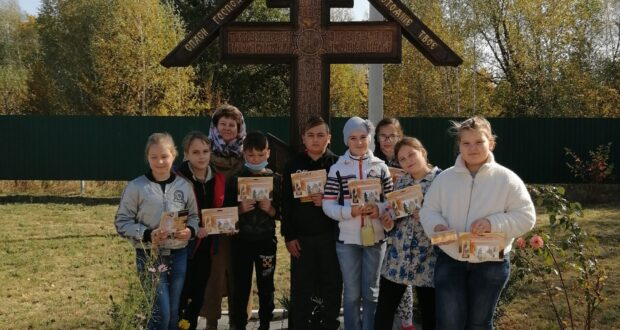 Паломничество воскресной школы Казанского собора Лебедяни на родину прп. Силуана