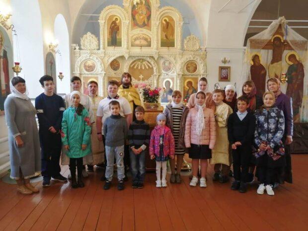 Молебны перед началом учебного года в Чаплыгинском благочинии