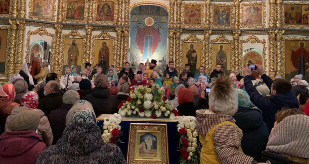 День матери в воскресной школе Храма Елецкой иконы Божией Матери