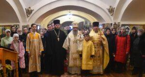 Литургия в Христорождественском храме
