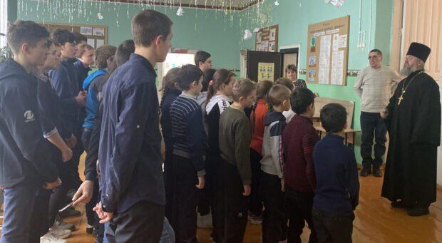 Рождественский праздник в школе д. Сухой Семенёк