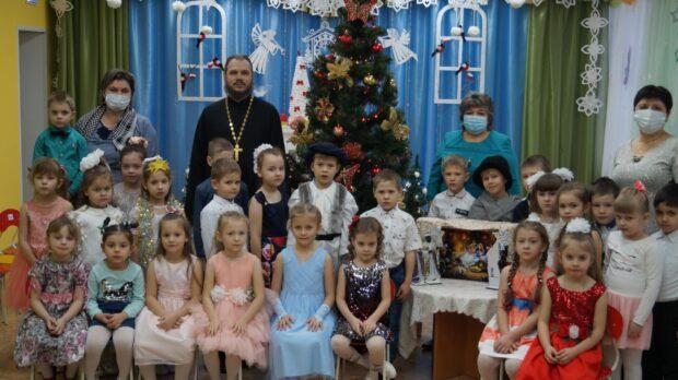 Рождественский утренник в д/с «Сказка» с. Становое