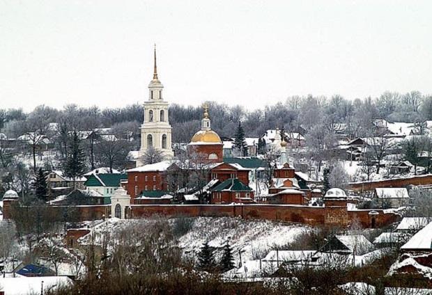 Рождественский праздник в воскресной школе Знаменского монастыря