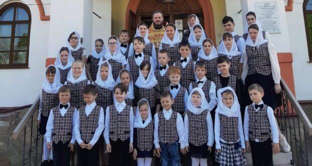 Приходы Становлянского благочиния завершили учебный год