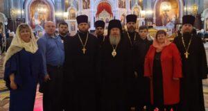 Делегация Елецкой епархии принимает участие в XXIХ Международных Рождественских чтениях