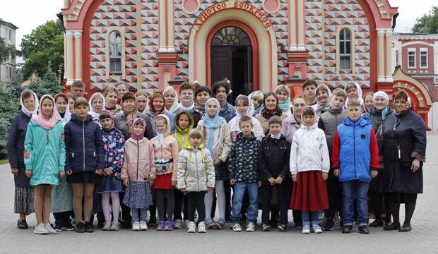 Паломничество воскресной школы «Лампада» в Мичуринск и Тамбов