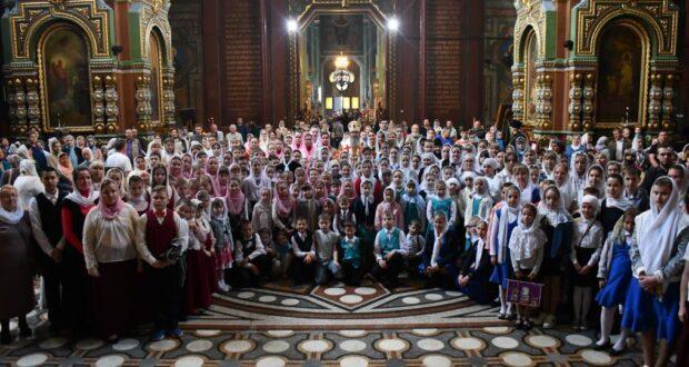 В Елецкой епархии завершился учебный год