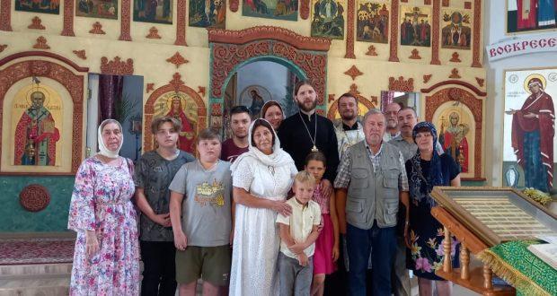 Потомки династий священнослужителей Романовских-Добровых посетили Липецкий край