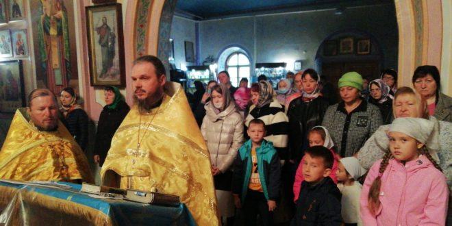 Открытие нового учебного года Становлянского благочиния