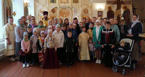 Молебны перед началом учебного года в воскресных школах Чаплыгинского благочиния