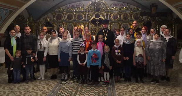 В воскресной школе Вознесенского собора открылся новый учебный год