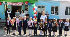 В школах Чаплыгинского района провели торжественные линейки